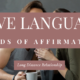 How to Say Words of Affirmation in a Long Distance Relationship